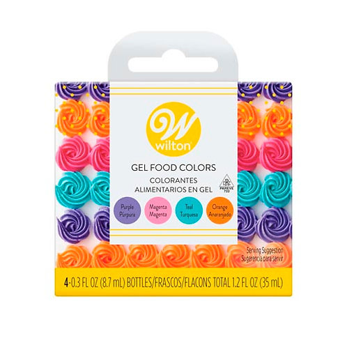 Gel Color Set Primary 4pk