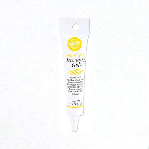 Lemon Yellow Gel Tube