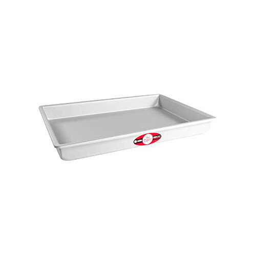 "Sheet cake pan solid bottom 11""x15""x2"""