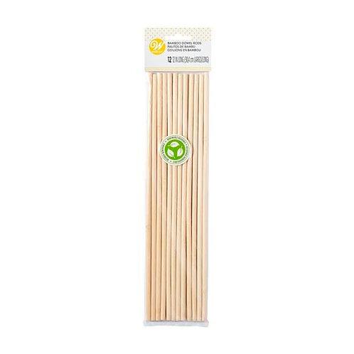 Bamboo Dowel Rods 12pk