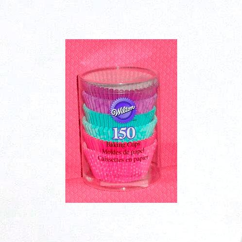 Std Cup Pink Turq Ppl 150ct