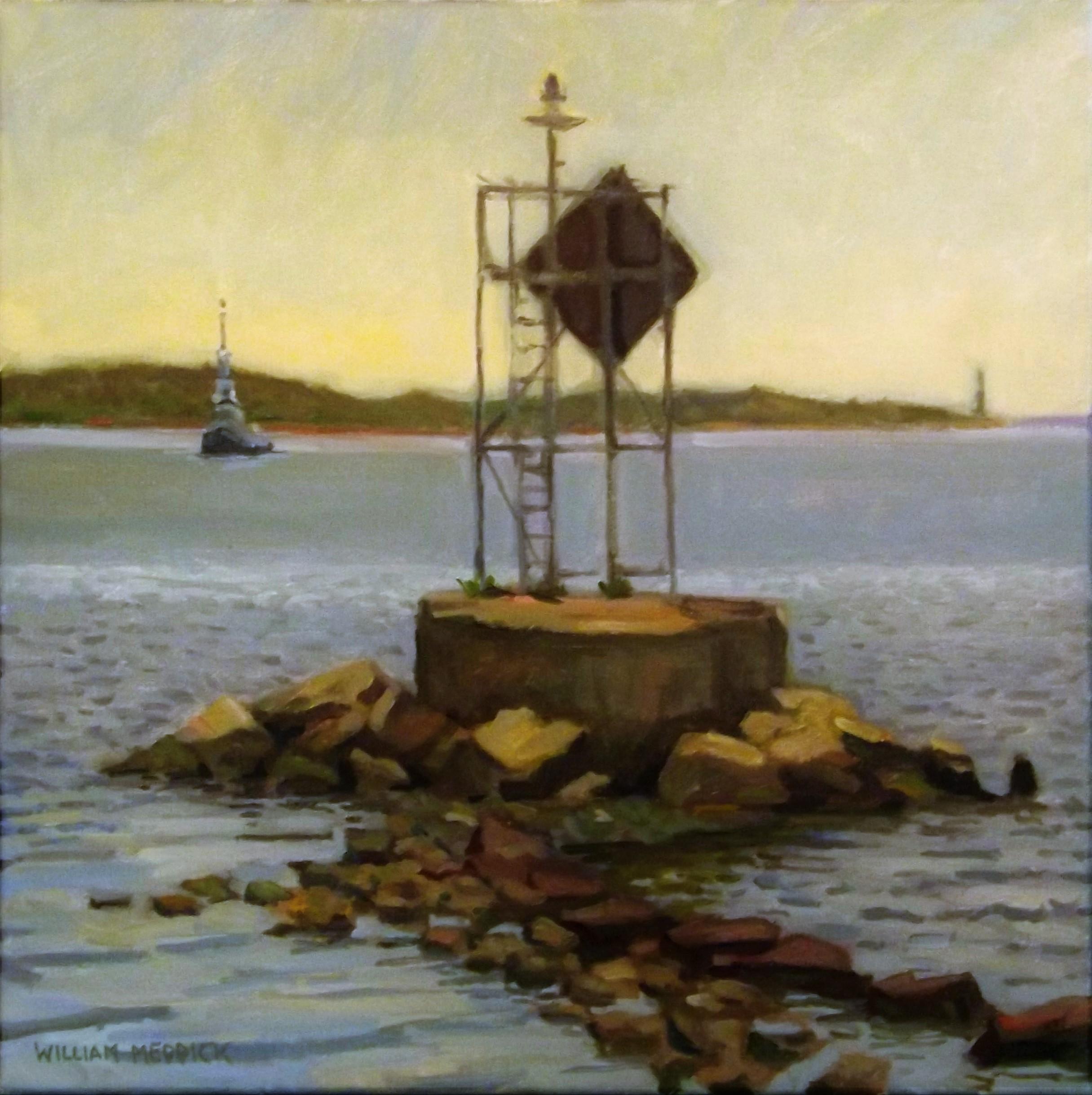 Harbor Marker w/Tug
