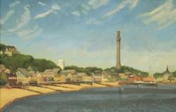 P-Town, oil/linen, 18 x 28