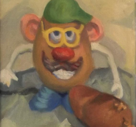 Mr. Potato Head w/ Potato