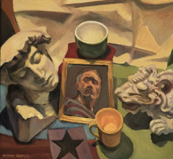 Black Star & Self Portrait at 65