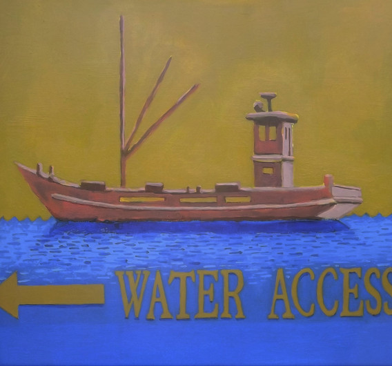 Water Access Sign