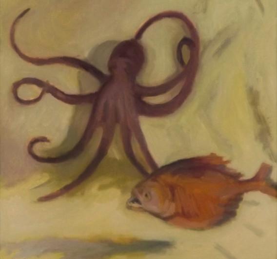 Octopus & Piranha