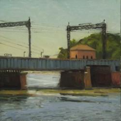 RR Bridge over Saugatuck