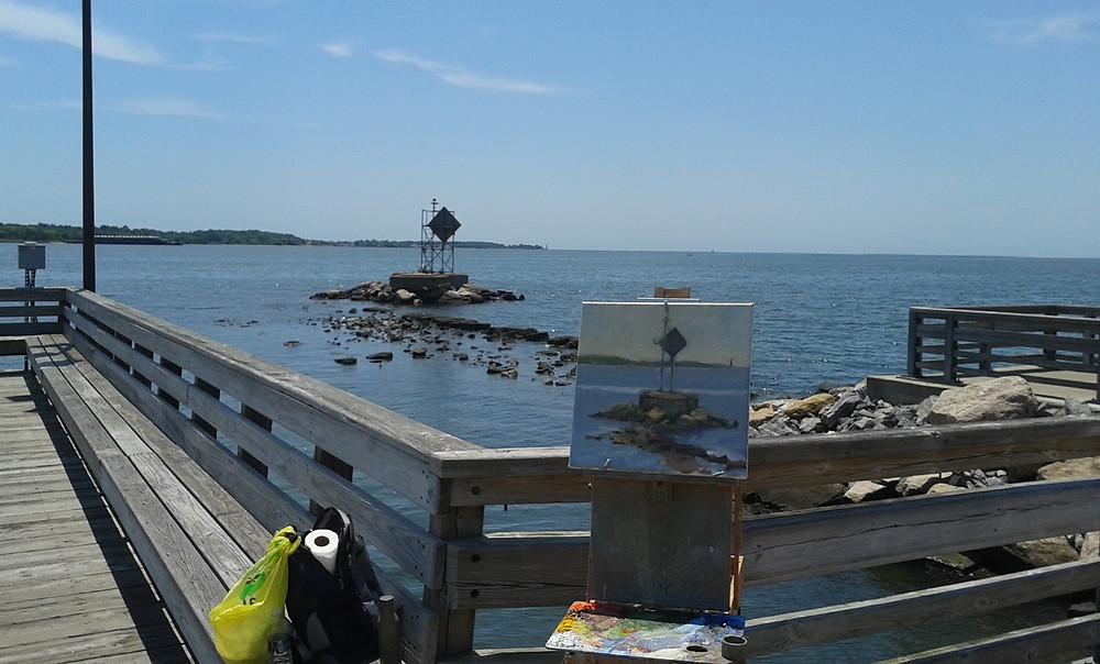 New Haven Harbor Pier