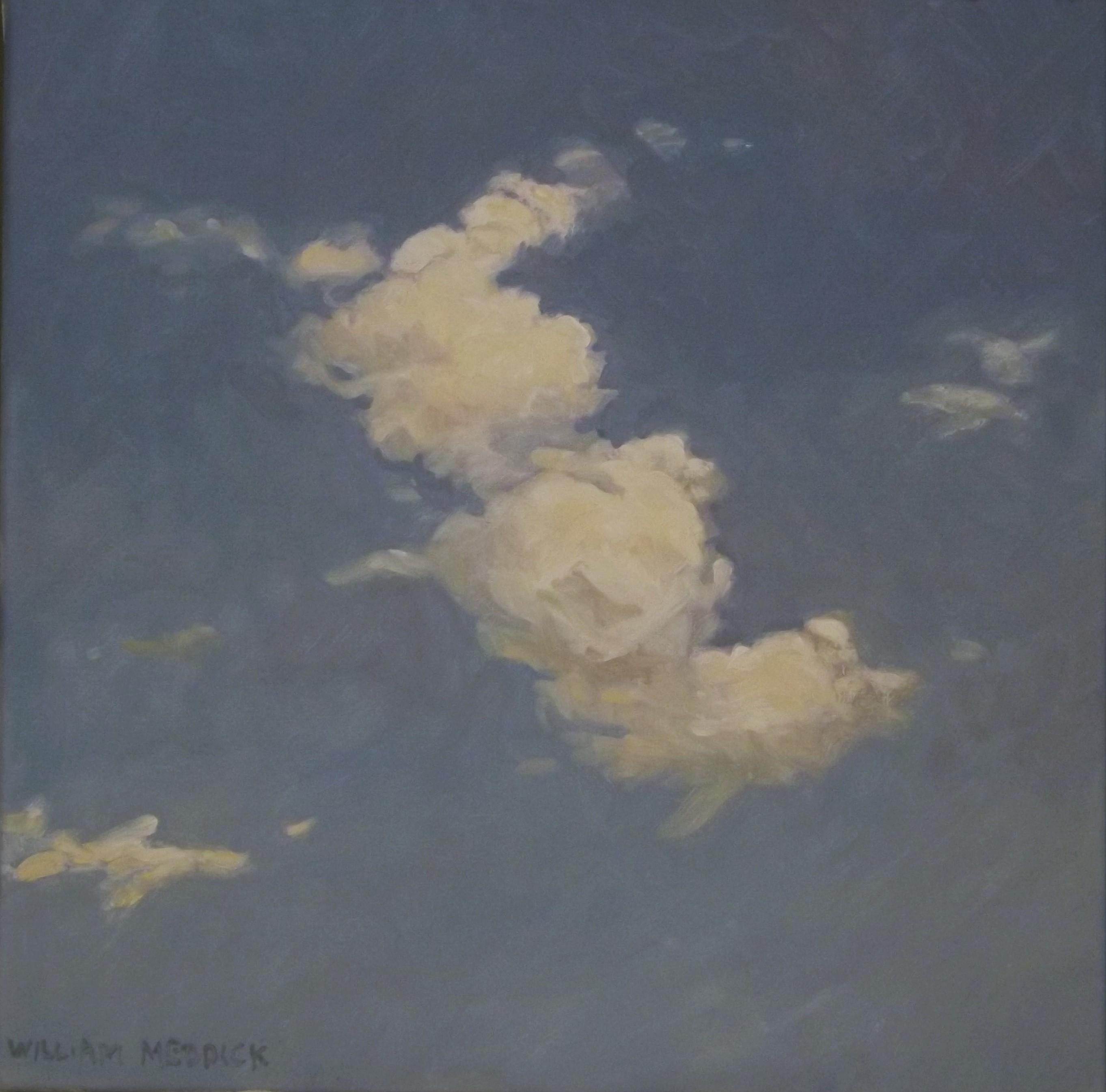 Cloud, oil/linen, 16 x 16