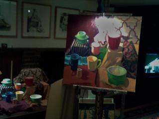 Friday Night Painting