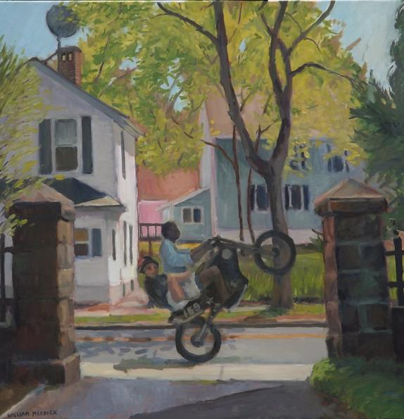 Spring, East Grand Avenue