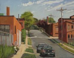Lloyd Street, oil/linen, 16 x 20