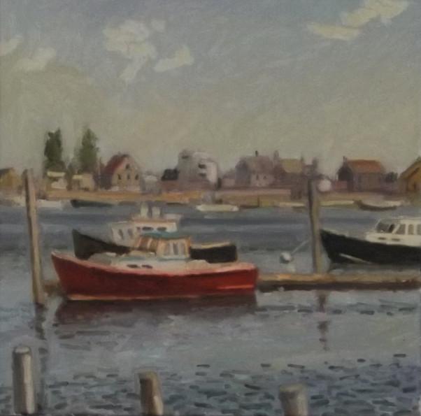3 Boats Moored, ME