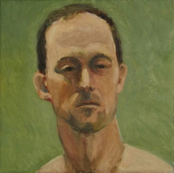 Scott, oil/linen, 12 x 12