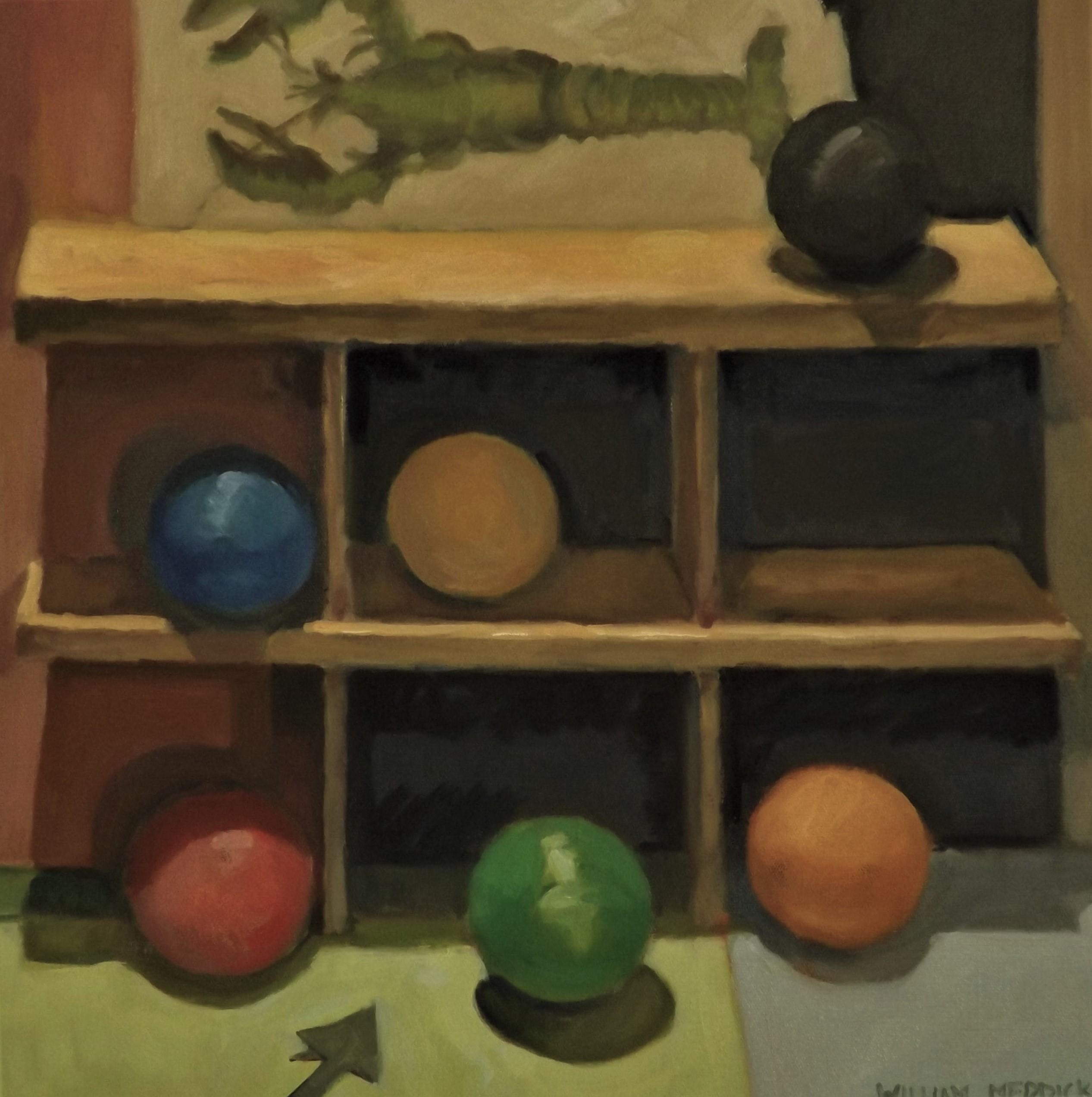 Balance, oil, 20 x20