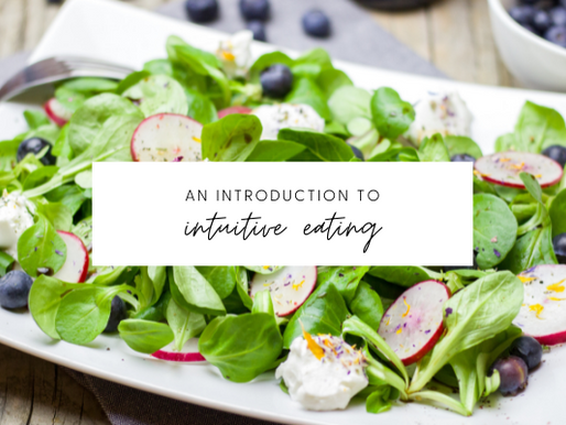 Intuitive Eating 101