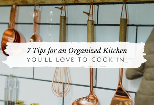 How to Organize Your Kitchen for Less Overwhelm