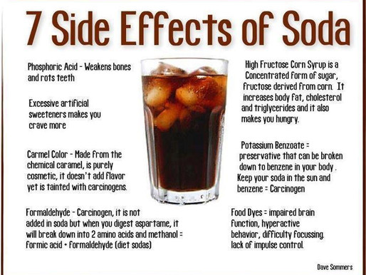 The Not So Healthy Side Effects of Soda