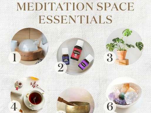 Meditation Space Essentials