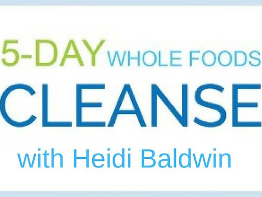 New Year's 5-Day Whole Food Cleanse