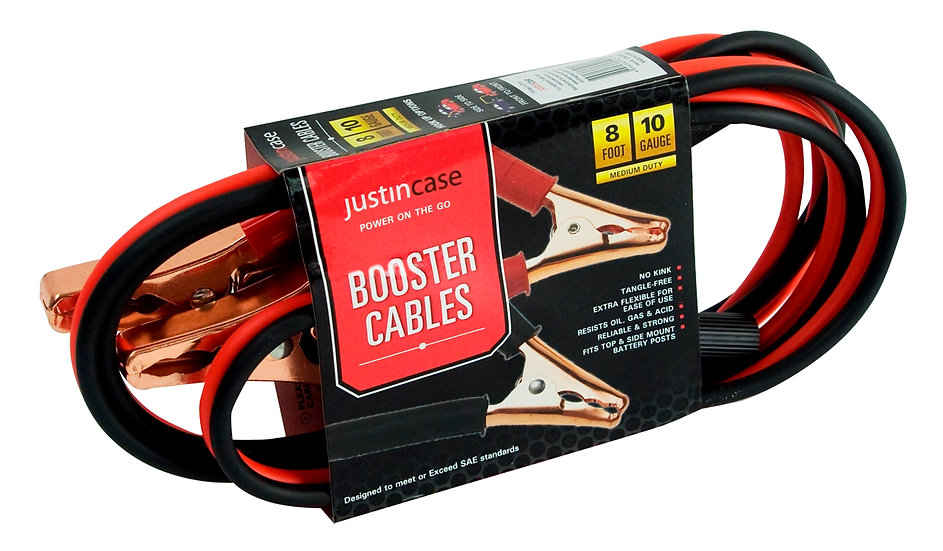 8ft, 10G Booster Cables