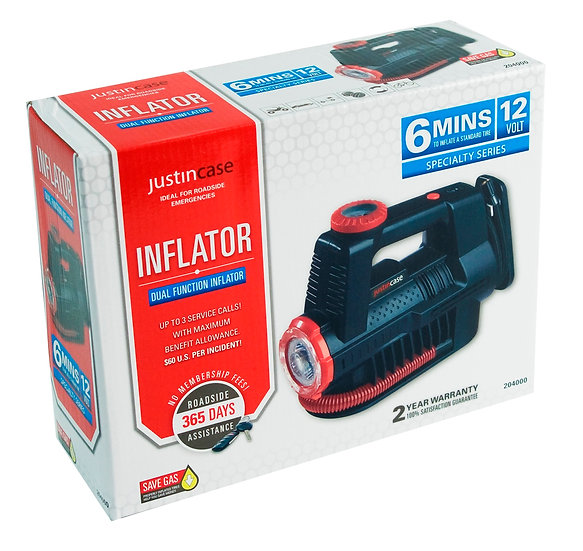 Dual Function Inflator
