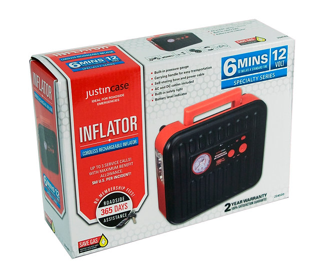 Cordless Rechargeable Inflator