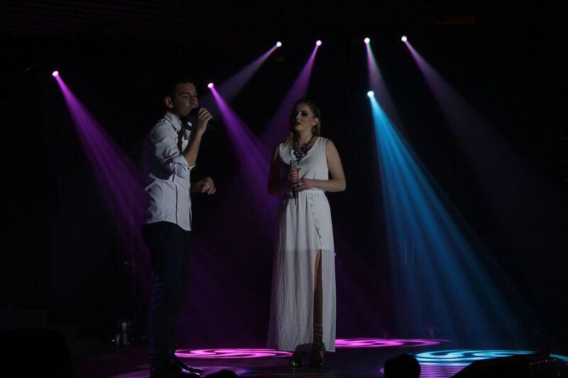 Notre duo de chanteurs
