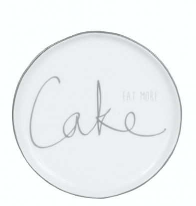 BC Teller Cake Grau