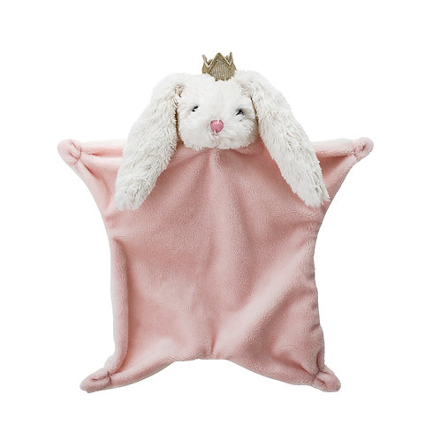 Bloomingville Kuscheltuch Hase rosa