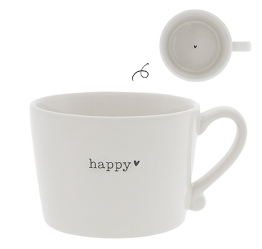 """BC Tasse """"happy"""" mit Herz"""