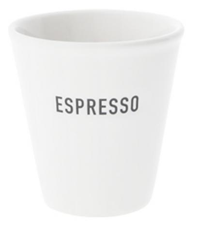"""BC Espresso-Becher """"ESPRESSO"""""""