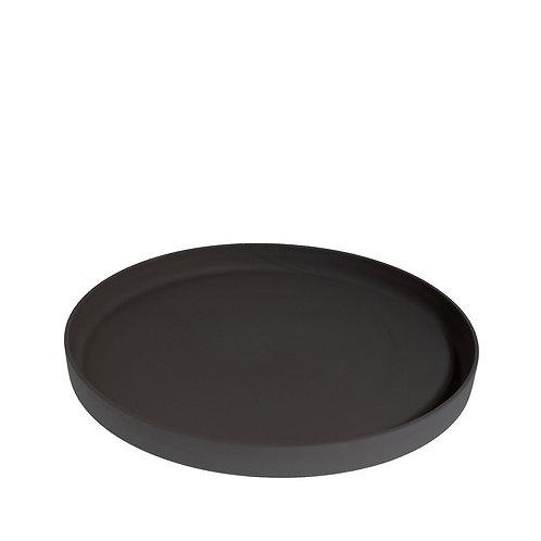 Keramik Tablett GRIMSHULT Schwarzgrau
