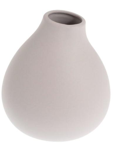 STOREFACTORY Vase KÄLLA grau