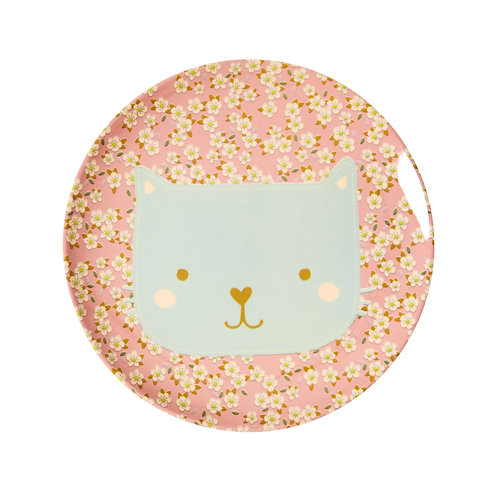 Melamine Teller Katze Rice