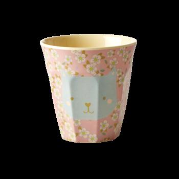 Melamine Cup Katze Rice