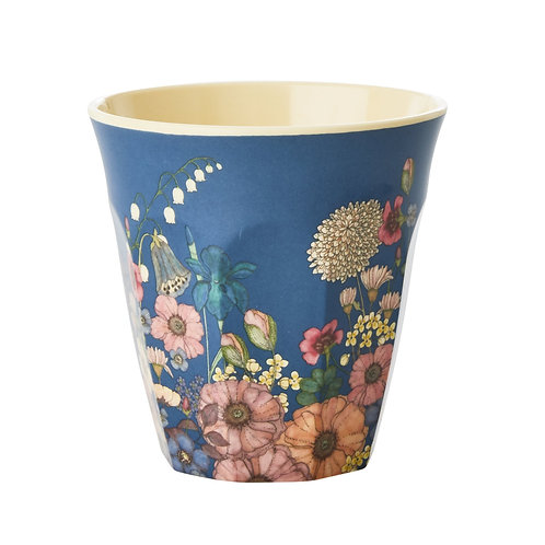 Melamine Cup Flower Collage Rice