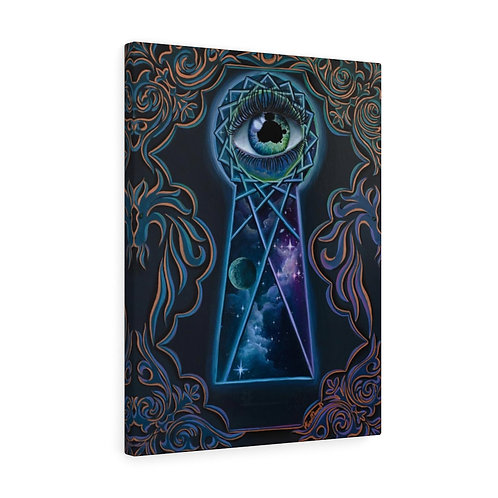 """""""The Eye that sees""""  Canvas Gallery Wraps"""