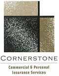 Cornerstone Insurance 2019 stacked logo.
