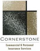 Cornerstone Insurance 2019 stacked logo.