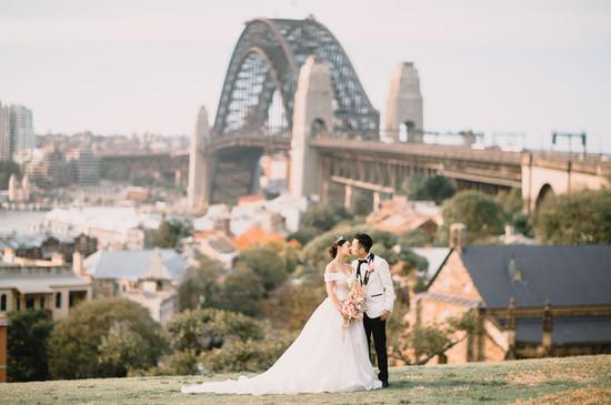 Romantic Sydney wedding photography