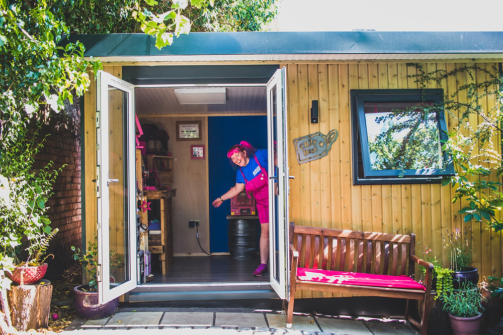 CRZyBest Shedquarters, Workshop, Garden Studio
