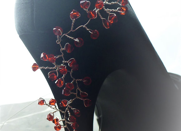 Shoe Embellishment: Heel, Side & Front