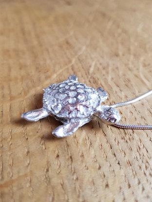 Bespoke Silver Turtle
