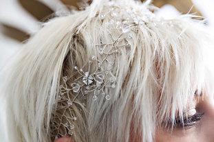 CRZyBest Bespoke Bridal Hair Vine
