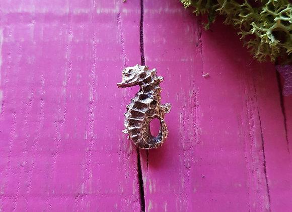 Tiny Seahorse Lapel Pin
