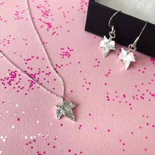 Sterling Silver Tiny Hop Leaf Jewellery