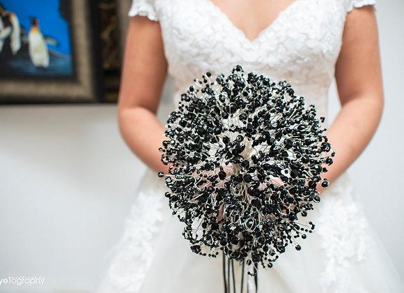Midnight Skull Alternative Bouquet