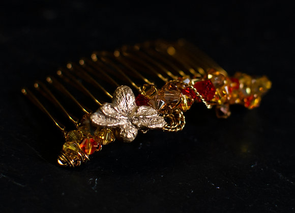 Honey Bee Hair Comb